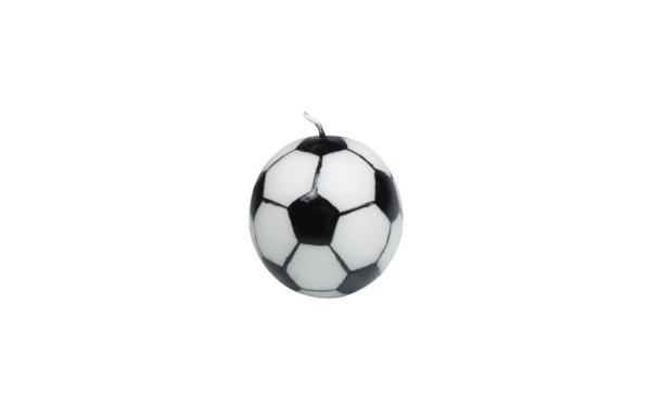 På billedet ser du variationen Figurlys. Fodbold fra brandet i en størrelse D: 7 cm. H: 8 cm. i farven Hvid
