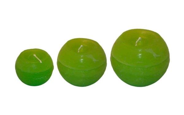 På billedet ser du variationen fra brandet i en størrelse D: 10 cm. H: 10 cm. i farven Lime