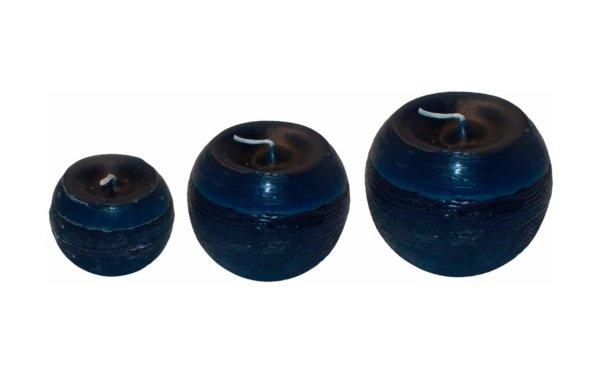 På billedet ser du variationen fra brandet i en størrelse D: 8 cm. H: 7 cm. i farven Mørkeblå