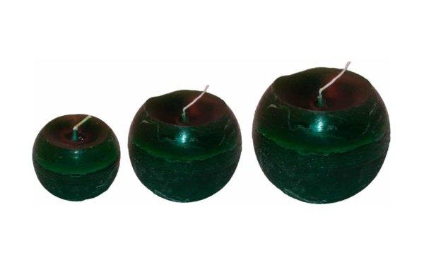 På billedet ser du variationen fra brandet i en størrelse D: 10 cm. H: 10 cm. i farven Mørkgrøn