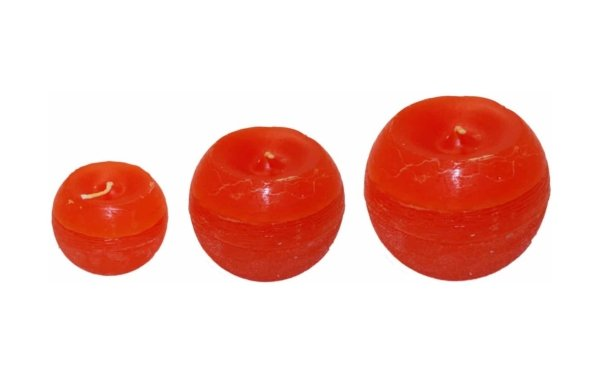 På billedet ser du variationen fra brandet i en størrelse D: 10 cm. H: 10 cm. i farven Orange