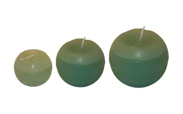 På billedet ser du variationen fra brandet i en størrelse D: 8 cm. H: 7 cm. i farven Pastelgrøn