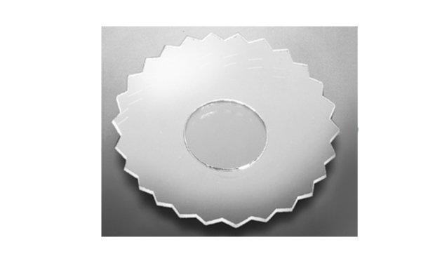 På billedet ser du variationen Lysmanchet. Basic line. Glas fra brandet i en størrelse D: 7 cm. i farven Glas