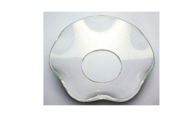 På billedet ser du variationen Lysmanchet. Buede. Glas fra brandet i en størrelse D: 7 cm. i farven Glas