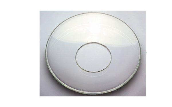 På billedet ser du variationen Lysmanchet. Klassisk. Glas fra brandet i en størrelse D: 7 cm.