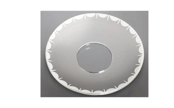 På billedet ser du variationen Lysmanchet. Mønster. Glas fra brandet i en størrelse D: 7 cm.
