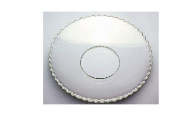 På billedet ser du variationen Lysmanchet. Riller. Glas fra brandet i en størrelse D: 7 cm.