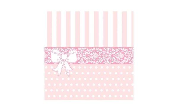 På billedet ser du variationen Middagsserviet. Tekstil. Bækkenlund by MANK. Bine. Rosa nuancer fra brandet i en størrelse B: 40 cm. L: 40 cm. i farven Rosa