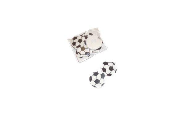 På billedet ser du variationen Små fodbolde til pynt fra brandet i en størrelse B: 3,5 cm. L: 3,5 cm. i farven Sort