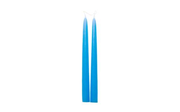 På billedet ser du variationen fra brandet i en størrelse D: 2,2 cm. H: 25 cm. i farven Lysblå